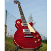 Weller Edel Les Paul, massiv Mahagoni Body, quilted maple, red